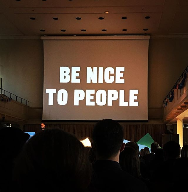 Bit spesh. @anthonyburrill speaking at