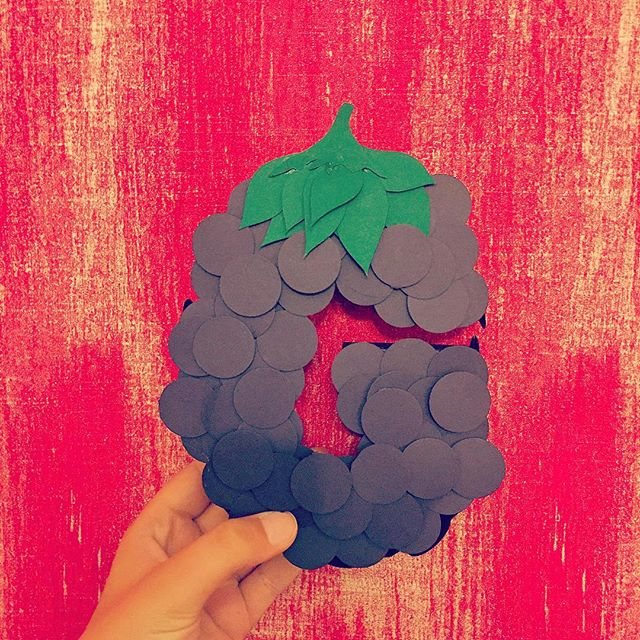 Had a GRAPE  morning  with @sampierpoint at the paper letter workshop this morning! . .