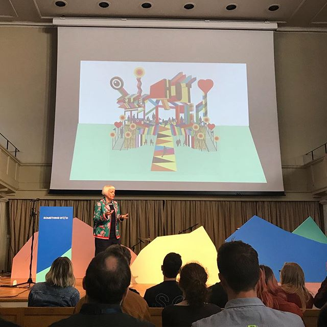 Next up the wonderfully colourful @moragmyerscough! Such beautiful work and absolutely awesome jacket!!