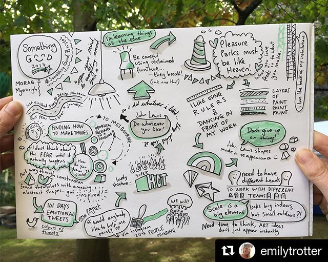 @emilytrotter ・・・ Being inspired by amazingly creative people at and enjoying my pens 🖍 @jamfactory @moragmyerscough @threadbristol