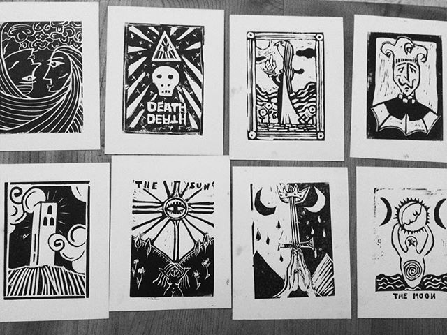 Thanks @sophyhollington and Had an awesome time learning how to linocut and think we all did pretty well for first timers! 😀